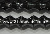 CHE200 15.5 inches 8*8mm dumbbell hematite beads wholesale