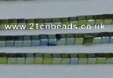 CHE452 15.5 inches 2*2mm cube plated hematite beads wholesale