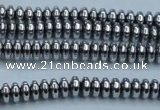 CHE727 15.5 inches 2*4mm rondelle plated hematite beads wholesale