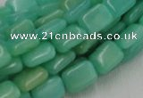 CHM09 16 inches 10*14mm rectangle green hemimorphite beads wholesale