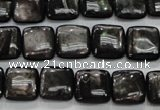 CHS81 15.5 inches 12*12mm square natural hypersthene beads