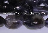 CIL42 15.5 inches 8*12mm � 8*14mm nuggets natural iolite gemstone beads