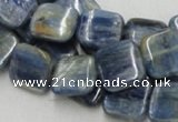 CKC06 16 inches 12*12mm square natural kyanite beads wholesale