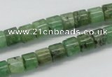 CKC104 16 inches 6*8mm column natural green kyanite beads wholesale