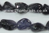 CKC219 15.5 inches 14*18mm nugget natural kyanite gemstone beads