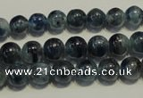 CKC462 15.5 inches 8mm round natural kyanite beads wholesale