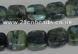 CKC50 15.5 inches 10*10mm square natural kyanite beads wholesale