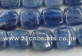 CKC520 15.5 inches 6mm square natural Brazilian kyanite beads