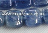 CKC526 15.5 inches 18mm square natural Brazilian kyanite beads