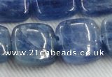 CKC527 15.5 inches 20mm square natural Brazilian kyanite beads