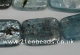 CKC53 15.5 inches 18*25mm rectangle natural kyanite beads wholesale