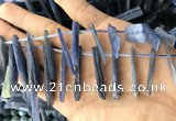 CKC547 Top drilled 10*16mm - 12*50mm sticks kyanite beads