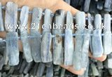 CKC550 Top drilled 10*18mm - 15*50mm sticks kyanite beads