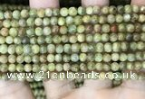CKC760 15.5 inches 4mm round natural green kyanite beads