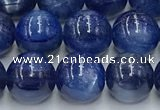 CKC779 15.5 inches 8mm round blue kyanite beads wholesale