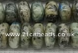CKJ435 15.5 inches 5*8mm - 5*9mm rondelle natural k2 jasper beads