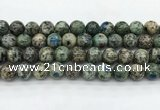 CKJ466 15.5 inches 12mm round natural k2 jasper beads wholesale