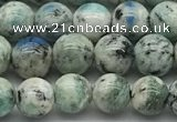 CKJ502 15.5 inches 6mm round natural k2 jasper gemstone beads