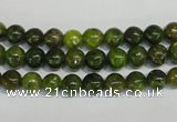 CKU142 15.5 inches 6mm round dyed kunzite beads wholesale
