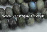 CLB33 15.5 inches 11*16mm faceted rondelle labradorite gemstone beads