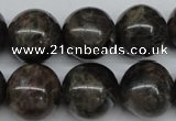 CLB436 15.5 inches 16mm round grey labradorite beads wholesale