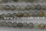 CLB62 15.5 inches 4mm round labradorite gemstone beads wholesale