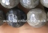 CLB884 15.5 inches 12mm faceted round AB-color labradorite beads