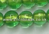 CLG839 15.5 inches 12mm round lampwork glass beads wholesale