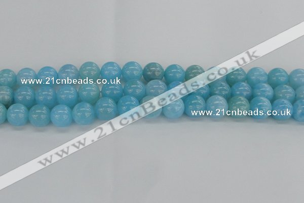 CLR73 15.5 inches 12mm round natural larimar beads wholesale