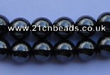 CMH08 16 inches 6mm round magnetic hematite beads Wholesale
