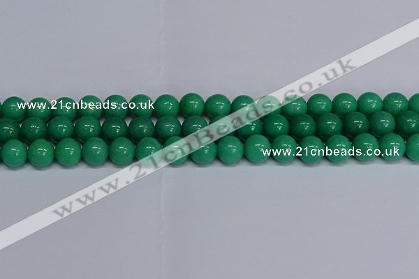 CMJ103 15.5 inches 12mm round Mashan jade beads wholesale