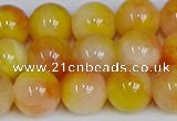 CMJ1057 15.5 inches 10mm round jade beads wholesale