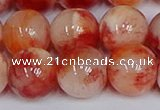 CMJ1143 15.5 inches 12mm round jade beads wholesale