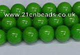 CMJ115 15.5 inches 8mm round Mashan jade beads wholesale