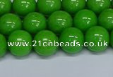 CMJ116 15.5 inches 10mm round Mashan jade beads wholesale