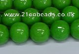 CMJ117 15.5 inches 12mm round Mashan jade beads wholesale