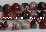 CMJ1181 15.5 inches 8mm round jade beads wholesale