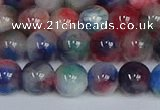 CMJ1185 15.5 inches 6mm round jade beads wholesale