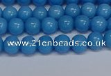 CMJ135 15.5 inches 6mm round Mashan jade beads wholesale