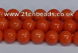 CMJ143 15.5 inches 8mm round Mashan jade beads wholesale