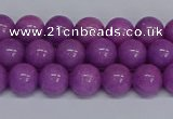 CMJ164 15.5 inches 8mm round Mashan jade beads wholesale