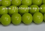 CMJ222 15.5 inches 12mm round Mashan jade beads wholesale