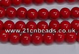 CMJ226 15.5 inches 6mm round Mashan jade beads wholesale
