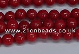 CMJ23 15.5 inches 6mm round Mashan jade beads wholesale