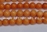 CMJ310 15.5 inches 6mm round Mashan jade beads wholesale