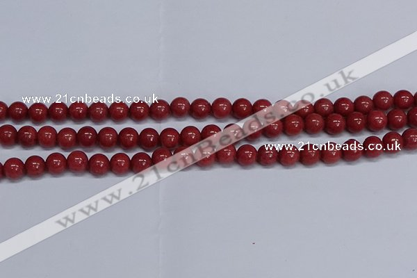 CMJ319 15.5 inches 10mm round Mashan jade beads wholesale