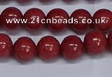 CMJ320 15.5 inches 12mm round Mashan jade beads wholesale