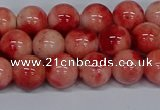 CMJ683 15.5 inches 10mm round rainbow jade beads wholesale