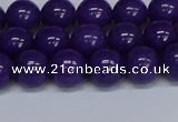 CMJ74 15.5 inches 10mm round Mashan jade beads wholesale