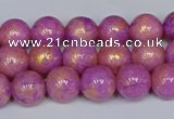 CMJ921 15.5 inches 6mm round Mashan jade beads wholesale